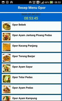 Aneka Resep Opor Terbaru screenshot 1
