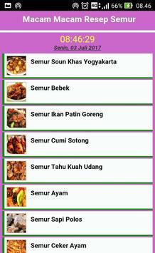 41 Resep Semur Terbaru apk screenshot