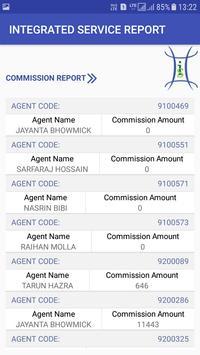 integrated service report apk screenshot