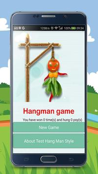 Hangman 2016 apk screenshot
