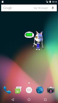 バッテリーウィジェットVerラヴァーノ apk screenshot
