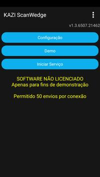 KAZI ScanWedge screenshot 1