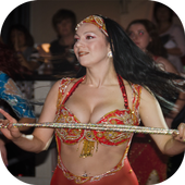 the oriental belly dance icon