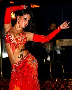 the oriental belly dance poster