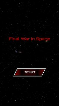 Space War In Space poster
