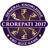 KBC 2018 & Crorepati English GK Endless Quiz Game icon