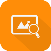 Picture Search and Share icon