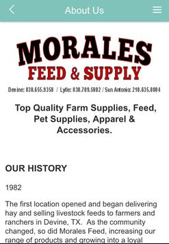 Morales Feed & Supply apk screenshot