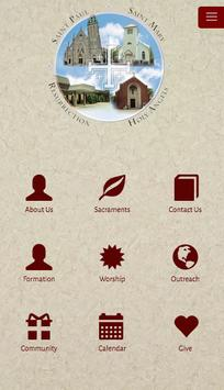 Cluster Parishes poster