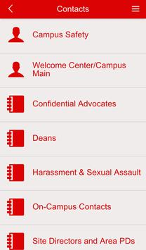 CUAA Resources and Contacts screenshot 1