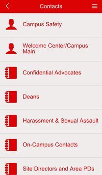 CUAA Resources and Contacts apk screenshot
