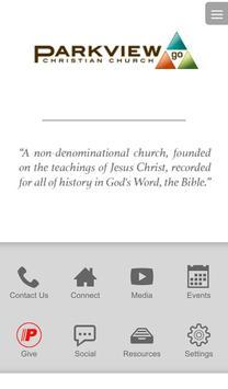 Parkview Christian Church App poster