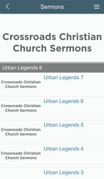 Crossroads Christian IN APP apk screenshot