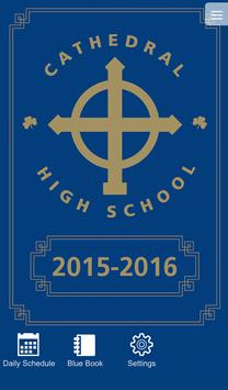 Cathedral Blue Book poster