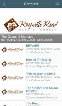Roopville Road Baptist Church screenshot 1