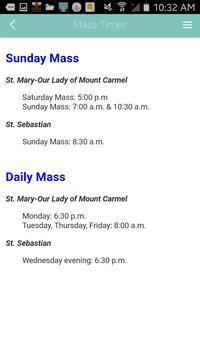 St. Mary-Mount Carmel IL apk screenshot