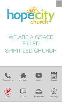 Hope City Church App poster