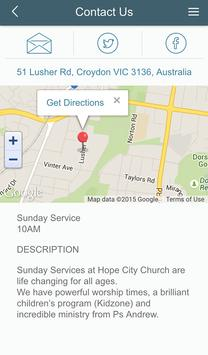 Hope City Church App screenshot 2