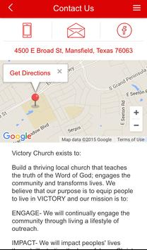 Victory Church of MansfieldAPP screenshot 2
