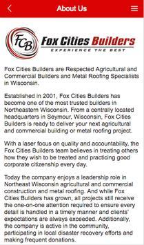 Fox Cities Builders apk screenshot