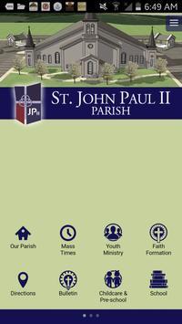 St John Paul II Sellersburg IN poster
