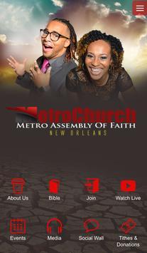 Metro Church NOLA poster