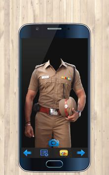 Police Photo Suit Maker poster