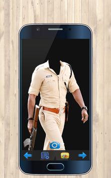 Police Photo Suit Maker screenshot 1