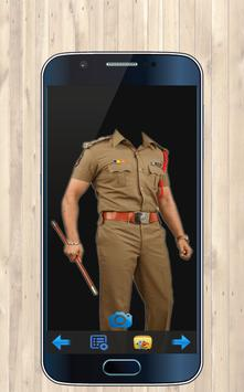 Police Photo Suit Maker screenshot 2