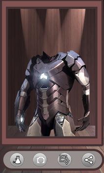 Superhero Face Photo Suit screenshot 1