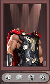 Superhero Face Photo Suit screenshot 2