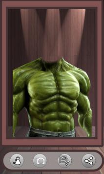 Superhero Face Photo Suit screenshot 3