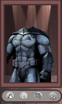 Superhero Face Photo Suit screenshot 4