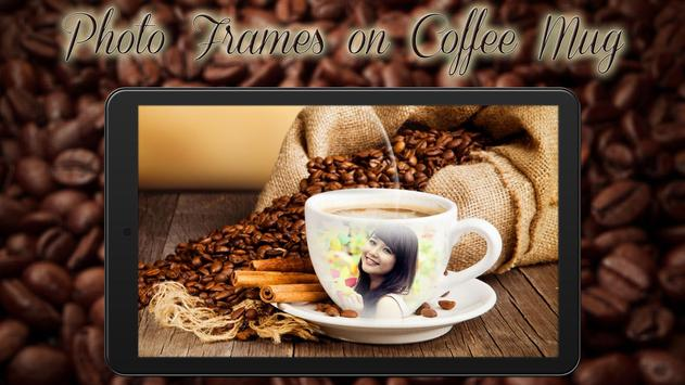 Photo Frames on Coffee Mug poster