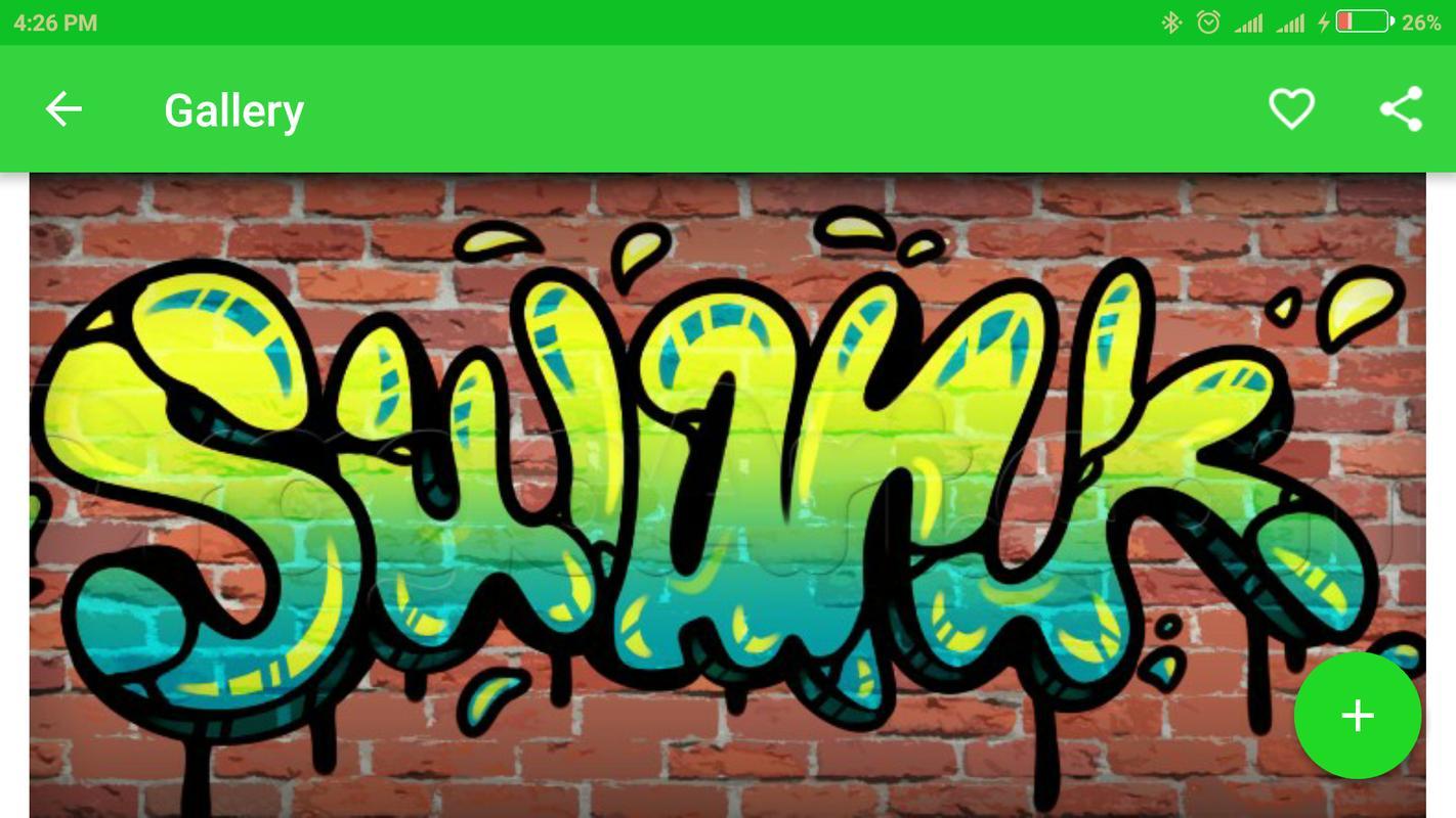 Drawing graffiti names designs screenshot 4