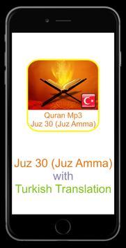 Quran Mp3 Turkish Translation screenshot 1