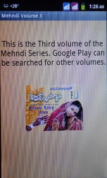 Mehndi Volume 3 poster