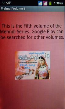 Mehndi Volume 5 poster