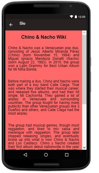 Chino & Nacho Songs+Lyrics for Android - APK Download