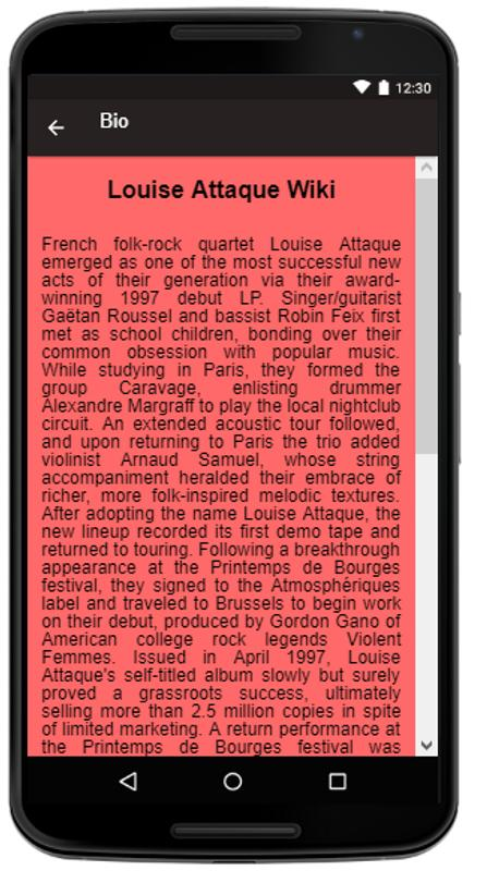 Louise attaque songslyrics apk download free entertainment app louise attaque songslyrics poster louise attaque songslyrics apk screenshot stopboris Gallery