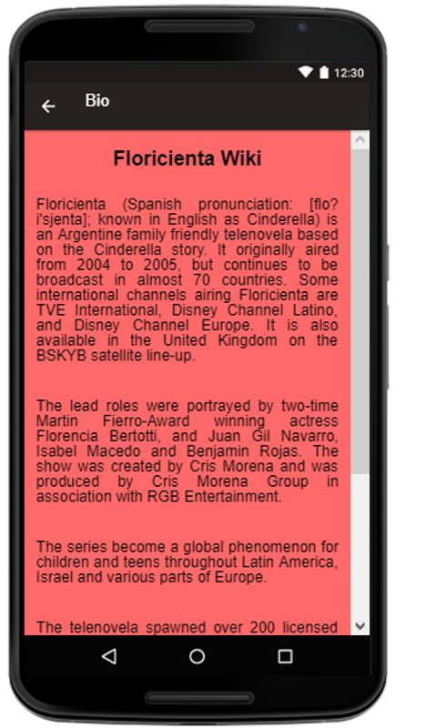 Floricienta Songs Lyrics For Android Apk Download