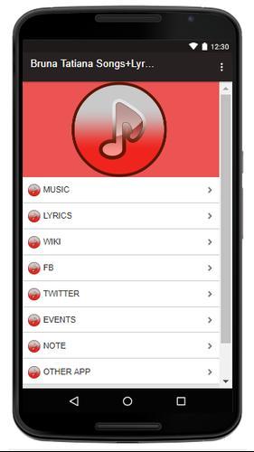 Bruna tatiana songs+lyrics latest version apk | androidappsapk. Co.