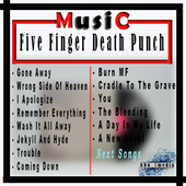 Five Finger Death Punch Top Songs + Lyrics icon
