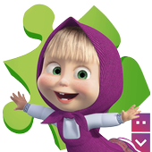 Masha and The Bear Puzzle Game icon