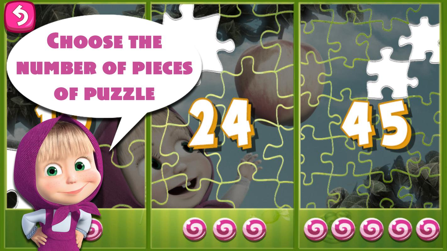 Masha And The Bear Puzzle Game Apk Download - Free Puzzle -6834