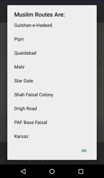 Karachi Bus Route Locator screenshot 6
