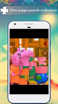 Puzzle For Peppa And Pig poster