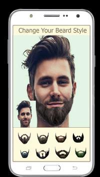 Men Photo Editor – Beard, Moustache, Hairstyle screenshot 1