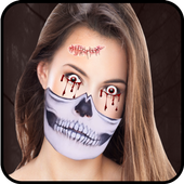 Halloween Photo Editor – Halloween Face Stickers icon