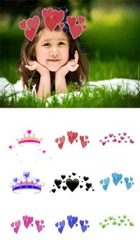 Heart Crown Photo Editor screenshot 2